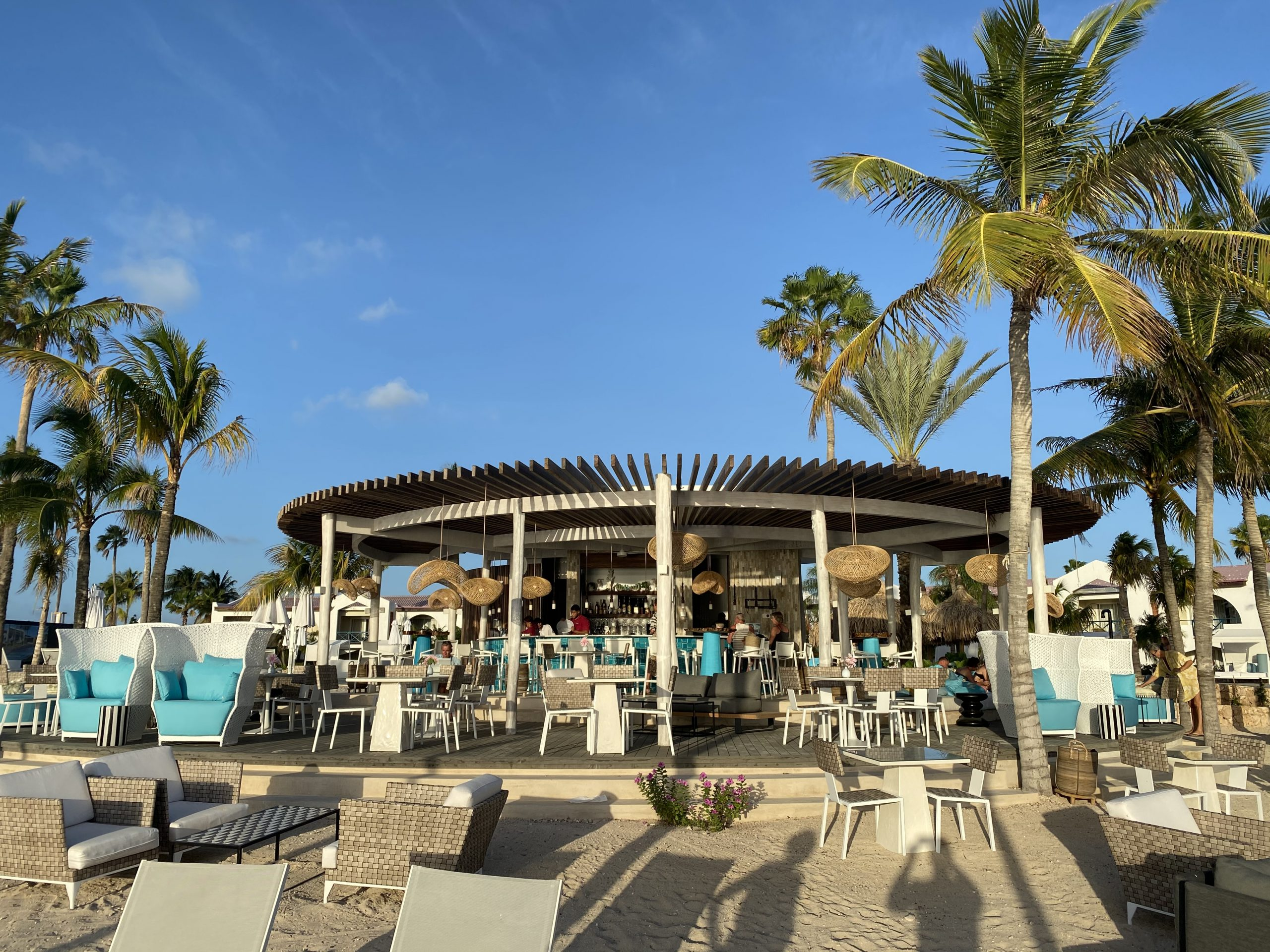 Beach bar Plaza Resort Bonaire AG architecten